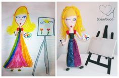 Sabutuca ♥: bonecos imaginados: homenagem