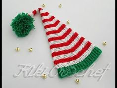How to Crochet an Elf Hat Step by Step!!!!