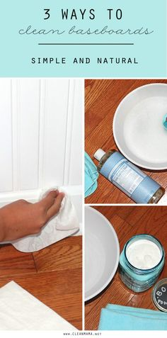 Hello, sparkling baseboards! Clean your baseboards with ease with one of these methods.