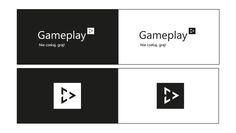 Projekt logo Gameplay jest prosty i a sygnet nawiązuje do prostokąta. Niezwykłe jest w nim to, że sygnet jest zawsze uczepiony na końcu napisu i można go stosować osobno bez napisu. Zapraszam na www.wambox.pl