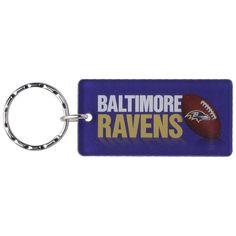 Baltimore Ravens Printed Acrylic Keychain - $5.99