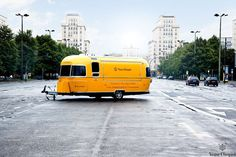 The Veuve Clicquot Airstream has vintage tastings on the go
