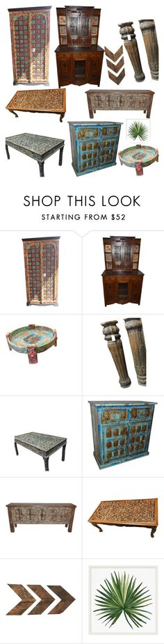 """""""Antique Furniture - Decor your home"""" by era-chandok ❤ liked on Polyvore featuring interior, interiors, interior design, home, home decor, interior decorating, Pottery Barn, furniture, homedecor and sale"""