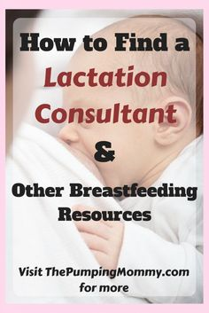 How to Find a Lactation Consultant - Sometimes Breastfeeding and/or Pumping doesn't go as planned. There are clogged milk ducts, low milk supply, mastitis, weight gain issues with your baby, bad latching, crying (you and your baby), and more... Most lactation issues can be overcome and a Lactation Consultant is a great place to start. Find out how to find a Lactation Consultant near you, what to expect at your visit, and if insurance will pay for lactation services. Visit ThePumpingMommy.com