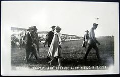 BELLEVILLE Illinois~1922 AIR CIRCUS SCOTT FIELD ~BRIDAL PARTY