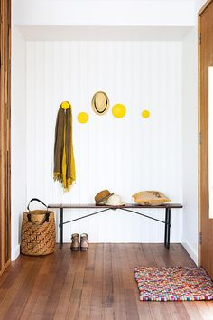 Get the look: http://www.replicafurniture.com.au/replica-mutto-the-dots-hanger-yellow.html