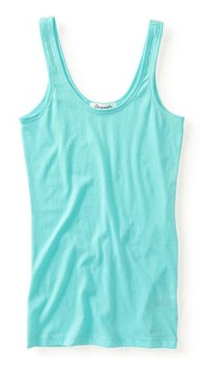 4f425e283c Amazon.com  Aeropostale Womens Plain Ultra Soft Tank Top 130 XS  Clothing