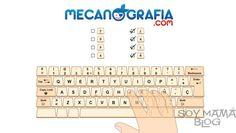 Curso de mecanografía en mecanografia.com