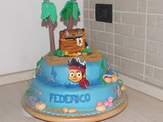I miei hobby: Torta Jake per Federico.