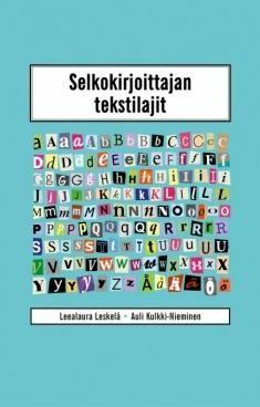 Selkokirjoittajan tekstilajit / Leealaura Leskelä, Auli Kulkki-Nieminen. Kirja on tarkoitettu kaikille selkokirjoittajille ja selkokielestä kiinnostuneille. Mukana ovat myös yleiset selkokirjoitusohjeet niille lukijoille, jotka eivät ole aiemmin kirjoittaneet selkotekstejä.