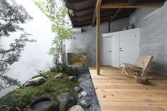 td-atelier refurbishes century-old japanese guesthouse with modern interventions