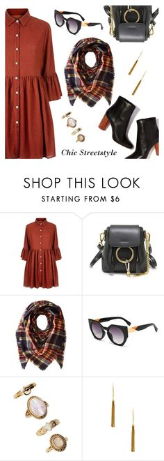 Chic Streetstyle by dressedbyrose on Polyvore featuring Mela Loves London, Vanessa Mooney, Forever 21, Collection XIIX, StreetStyle, ootd and polyvoreeditorial