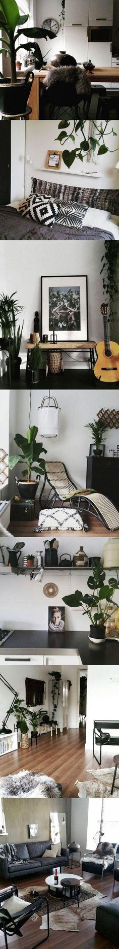 Como decorar usando el color negro / http://www.facilisimo.com/blog-drlivinghome