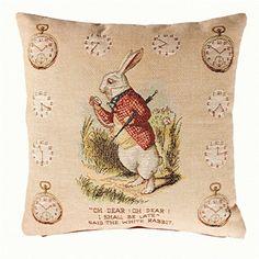 John tenniel douche de cartes alice au pays des merveilles 45cm x 45cm canapé coussin