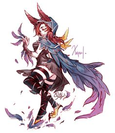 Xayah• - League of legends