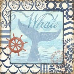 Ocean Depths Whale Tail by Geoff Allen | Ruth Levison Design