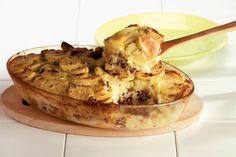 Kijk wat een lekker recept ik heb gevonden op Allerhande! Zuurkoolschotel met gehakt en ananas