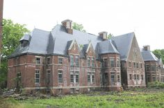 The Awl building Norwich State Hospital for the insane which opened in 1904 in Preston.