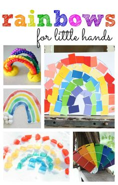 Rainbows for Little Hands: Rainbow activities for kids