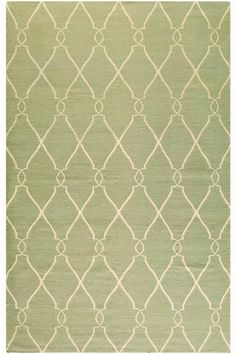 Rugs USA Kilim Trellis Green Rug Modern green home decor