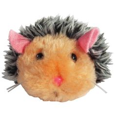 Zanies Plush Skedaddles Cat Toy, Hedgehog, 3-Inch *** Don't get left behind, see this great cat product : Cat toys