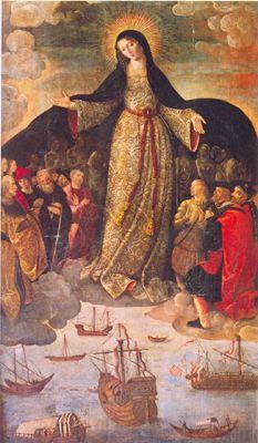 La Virgen de los Navegantes.