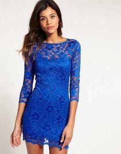 Modelos de vestidos com #renda http://modafeminina.biz/vestidos-moda/modelos-de-vestidos-com-renda