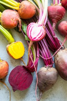 Roasting beets brings out their naturally sweet flavor better than any other cooking technique. Tt's easy to do and beets are plentiful year round, so you can toss them into your salads-- or just enjoy them on their own with a simple vinaigrette. Healthy Side Dishes, Good Healthy Recipes, Side Dish Recipes, Healthy Cooking, Easy Dinner Recipes, Amazing Recipes, Veggie Recipes, Delicious Recipes, Free Recipes