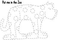 Ten apples up on top dr seuss coloring page az coloring for Put me in the zoo coloring pages