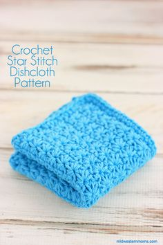 Doesn't the star stitch make for a beautiful dishcloth or washcloth? Want to learn how to crochet this dishcloth? Click through to get the Free Crochet Pattern. There is a video included to help you understand the star stitch. by Taylor Baxter Crochet Kitchen, Crochet Home, Crochet Crafts, Easy Crochet, Crochet Projects, Knit Crochet, Free Crochet, Dishcloth Crochet, Mandala Crochet