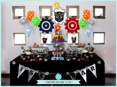 rescue Bots Party, Transformers Birthday | Creative Party Place