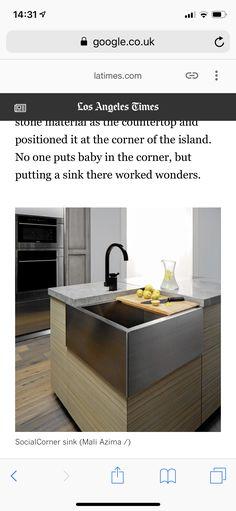 Kitchen Island, Sink, Home Decor, Sink Tops, Homemade Home Decor, Vessel Sink, Vanity Basin, Interior Design, Home Interiors