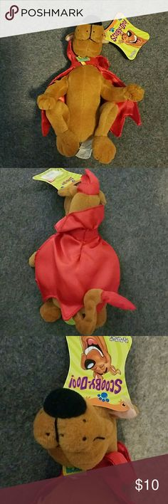 NWT Scooby-Doo in Devil's Costume Cute toy for kid or trinket for adults Cartoon Network  Accessories