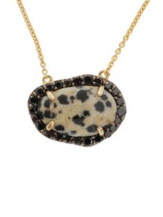 Phillips House 14k Diamond and Jasper Pendant Necklace at London Jewelers!