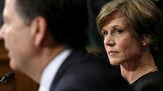 Sally Yates har afvist at forsvare Trumps indrejseforbud og dermed forrådt ministeriet, mener præsidenten.