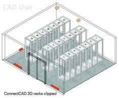 Designed as a #CAD support tool through from design to implementation, connectCAD's features make it ideally suitable for designing any complex electrical or IT configuration, using simple drag & drop tools, automated features & customisable tool templates to populate & lay out any electrical #network. In fact, it will most certainly figure strongly in the growing trend for wider IT access throughout industry in 'the Internet of Things' when everything is connected either directly or by wifi