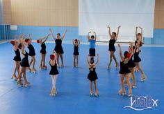 Ensayo general del Festival de danza-patinaje-teatro y ensemble 2016.  #extraescolaresISP #ColegiosISP
