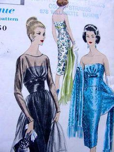 5o's eveningwear pattern