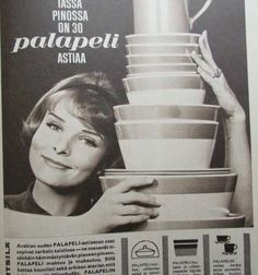Arabian Palapeli - 1964 Old Commercials, Finland, Album Covers, Nostalgia, Mid Century, Ads, Memories, Ceramics, Retro