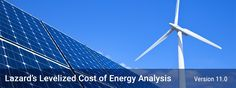 Great article on the solar and wind market and the cost of energy.