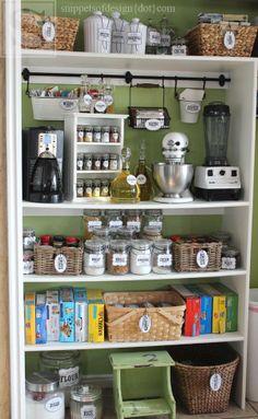 53 Mind-blowing kitchen pantry design ideas