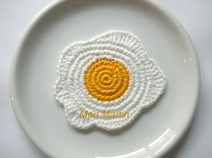 Crochet Coasters Eggs (photo only) Filet Crochet, Freeform Crochet, Crochet Motif, Crochet Doilies, Knit Crochet, Crochet Patterns, Doily Patterns, Thread Crochet, Dress Patterns