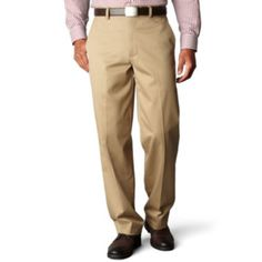 Dockers® Signature Relaxed-Fit Flat-Front Khaki Pants  found at @JCPenney
