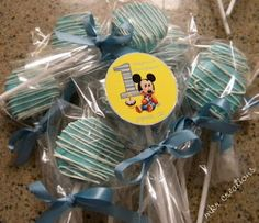 MKR Creations: Baby Mickey Favors
