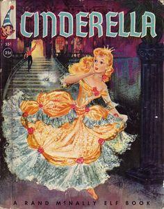 vintage cinderella storybook
