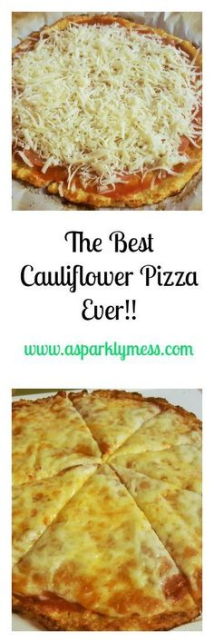 Amazing and easy step by step instructions with picture to make this wonderful low carb Cauliflower Pizza