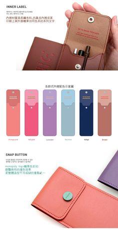 Pencil Case, Hot Pink , One Size - Zakka   YESSTYLE