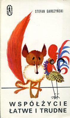 """""""Współżycie łatwe i trudne"""" Stefan Garczyński Cover by Mirosław Pokora Book series Seria Kieszonkowa Iskier Published by Wydawnictwo Iskry 1973"""