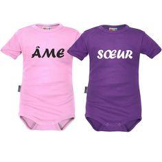 2 Bodies bébé jumelles : ÂME sœur - Jumeaux / jumelles - SiMedio