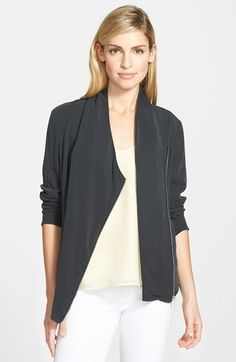 Trouvé Draped Moto Jacket...Great with any outfit you decide on!